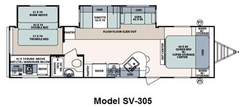 surveyor rv floor plans 28 forest river surveyor floor plans forest river