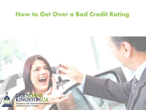 ppt how to get a bad credit rating powerpoint