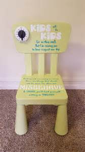 time out chair neutral personalized children timeout