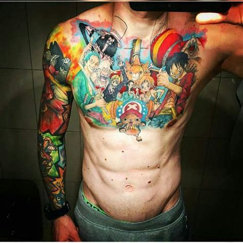 tattoo di one piece one piece tattoo 14 one piece amino