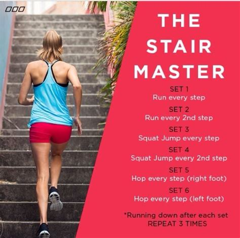 stair workout fitness