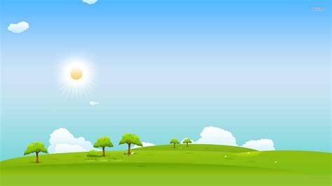 grass  sky vector wallpapers widescreen  wallpaper