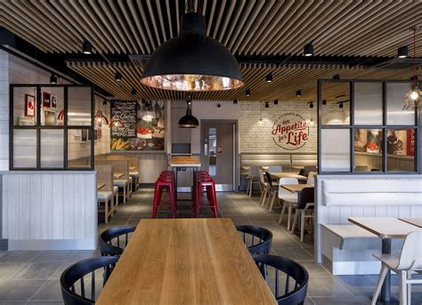 layout of kfc kfc unveils radical new interior designs design week