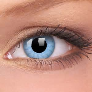 Light Blue Colored Contacts by Special Fx Contact Lenses Jewellery Shop