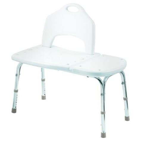 adjustable transfer bench moen plastic adjustable transfer bench in white dn7065 the home depot