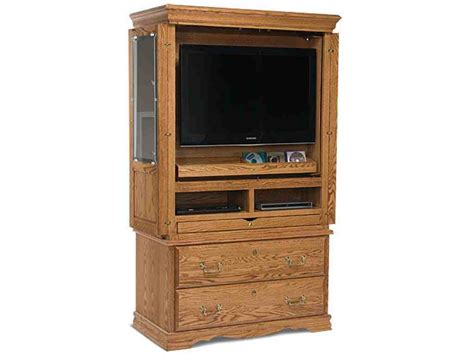 Flat Screen Tv Armoire With Doors Home Furniture Design