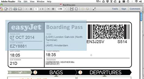 easyjet mobile boarding pass how to print your boarding pass with no ads to save