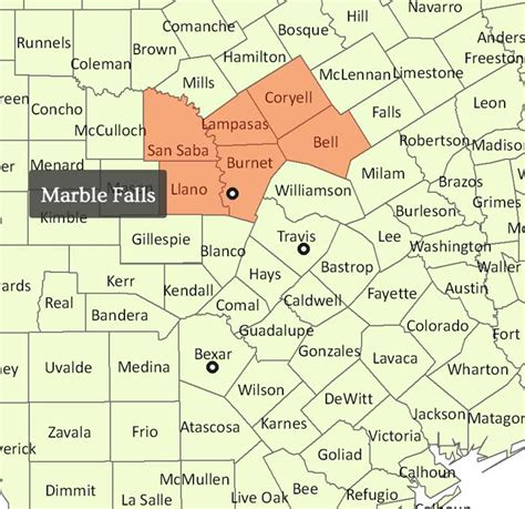 Which County Is Marble Falls - contact us capitol home health