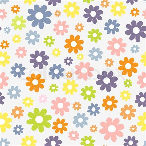 Cute Seamless Pattern Wallpaper | cute seamless pattern with spring theme stock vector