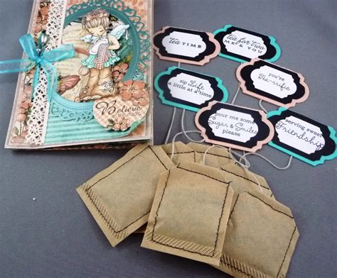 How Tea Bag Is Made by Make Your Own Tea Bags Cards Co