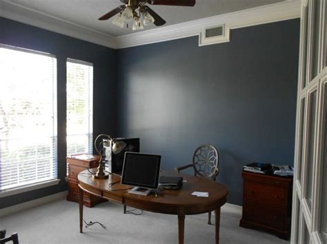 sherwin williams office colors granite peak sw6250 dining room pinterest man office