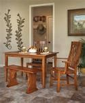 design your own dining room table amish design your own rectangular dining room table