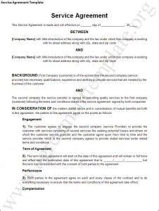 general service agreement template service agreement template 226 general contract for