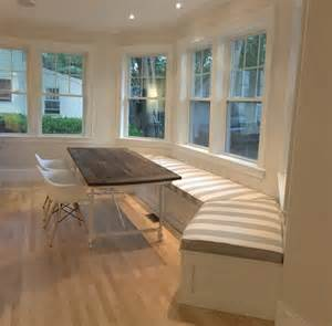 cushions and covers bay window banquette contemporary