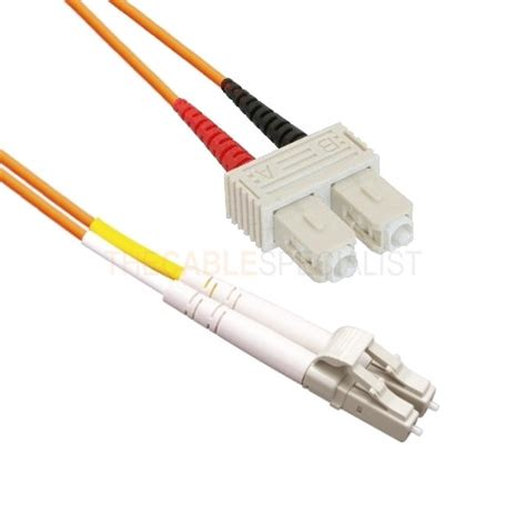 Fiber Patch Cord Multimode Om2 5 Meter Lc Lc Upc Duplex fibre optic patch cord 50 125 om2 lc sc duplex 2m