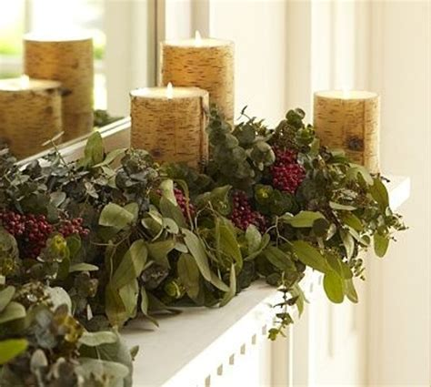 10 winter home decorating ideas picture of cozy winter mantle decor ideas