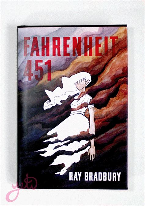 book report on fahrenheit 451 fahrenheit 451 book cover on behance