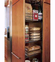 Small Kitchen Pantry Hideaway Pantry A Chef S Small Kitchen This House
