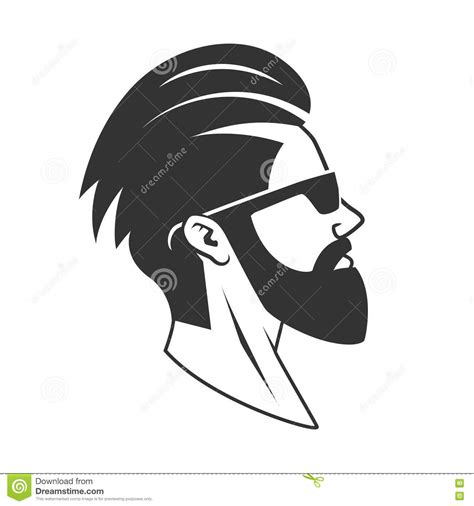 the gallery for gt beard logo the gallery for gt bearded man silhouette