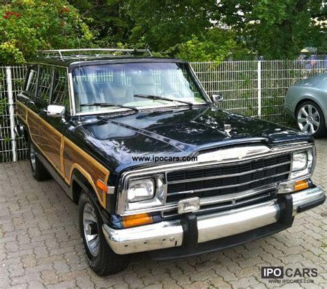 jeep pickup 90s 1990 jeep 5 9 l grand wagoneer bj 90 4x4 car photo and