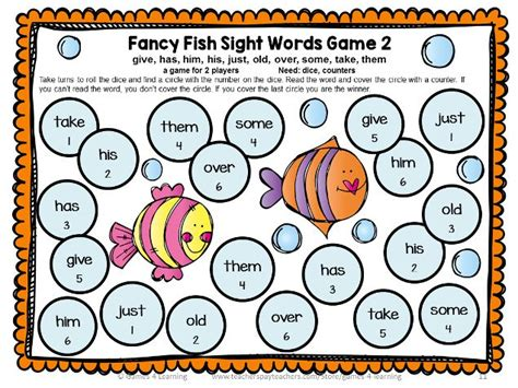 printable games to learn sight words 97 best images about sight words on pinterest math facts