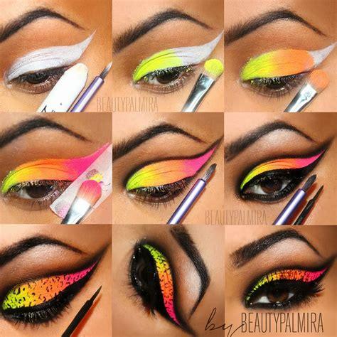Eyeshadow For neon eye makeup www pixshark images galleries with