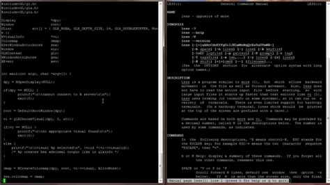 less pattern command line linux command line interface cli tutorial 006 cat