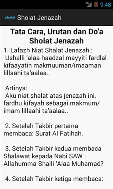 Download Tutorial Sholat Jenazah | download doa dan cara sholat jenazah for android appszoom