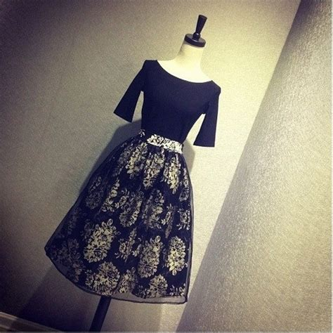 Setelan Rok 13 jual sx6sbfbb04 atasan baju hitam rok panjang rok