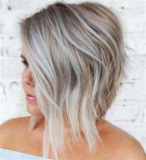 plus size women with angle bob hairstyle best 25 layered angled bobs ideas on pinterest long bob