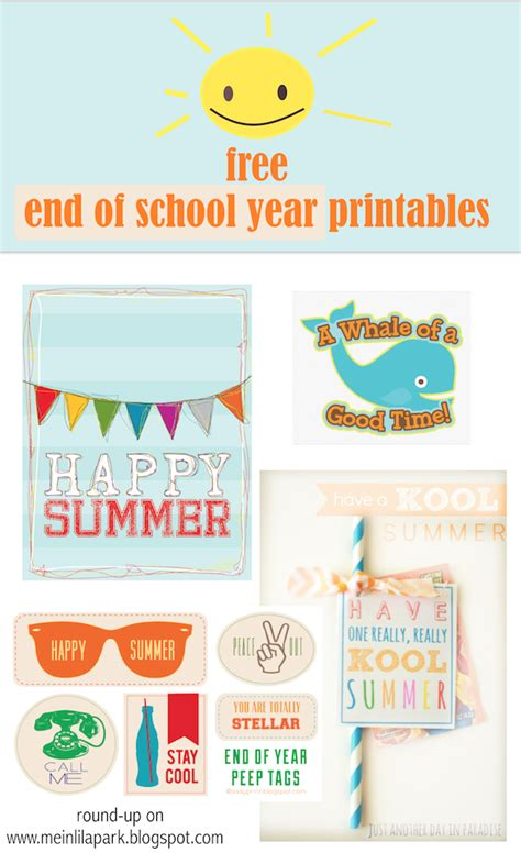 free printable gift tags summer free printable happy summer gift tags end of school year