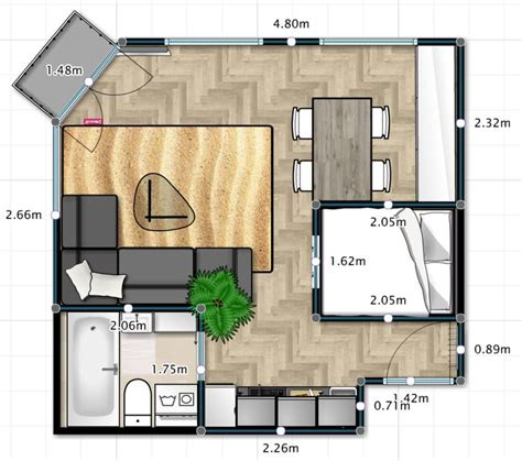 32 square meters to best free home design idea