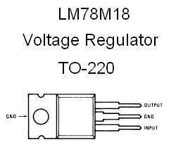 Ic Regulator 18v Smd S1117 lm78m18 positive 18v voltage regulator nightfire electronics llc