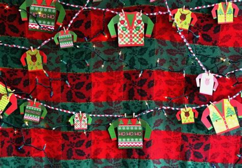 wallpaper garish 23 ugly sweater party ideas to have fun shelterness