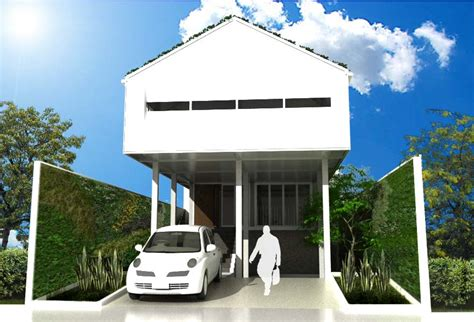 Residential Floor Plans by Pilotis Tropical House Has Architect