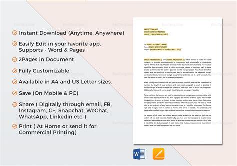 company memo template company memo template in word docs apple pages