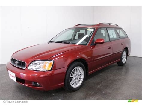 red subaru sedan 2004 regatta red pearl subaru legacy l wagon 55332581