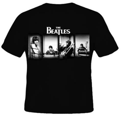 Kaos Band The Beatles 1 Hitam kaos logo dan personil the beatles 2 kaos premium