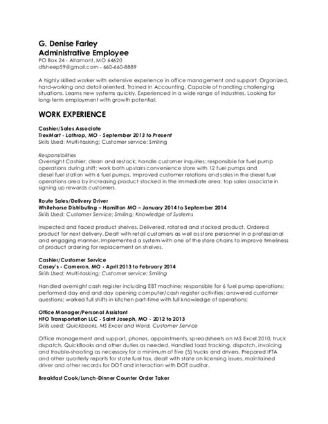 Targeted Resume Sle by Resume Paper Target 28 Images Diesel Mechanic Resume