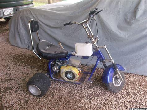 doodle bug wheelie bars mini bike drag racing
