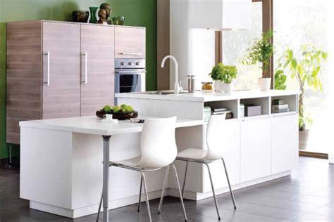 Exceptionnel Ikea Salle A Manger Moderne #4: cuisine-ilot-central-en-blanc.jpg
