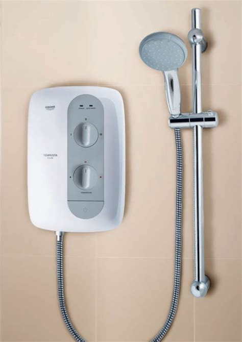 8 5 Kw Or 9 5 Kw Shower by Grohe Tempesta 100 9 5kw Electric Shower White Nighttime