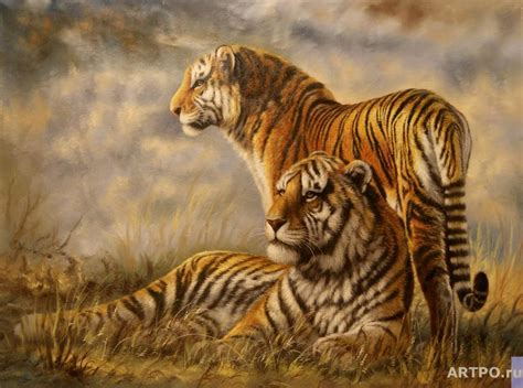 Painting Tiger tigers the artworks bruno augusto paintings artpo for sale painting gallery