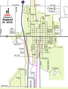 Gaylord Michigan Map by Gaylord Michigan 49735 Hotels Motels Resorts Lodging
