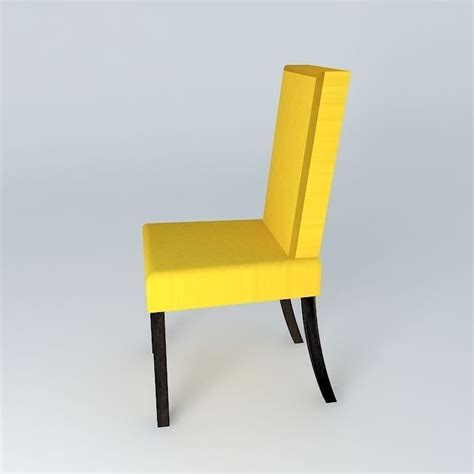 Yellow Chair Covers by Yellow Chair Cover Margaux Houses The World 3d Model Max