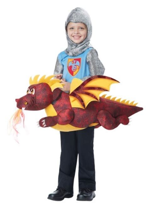 child ride  dragon costume