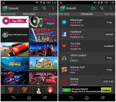 slideme apk slideme android apps market free paid lengkap