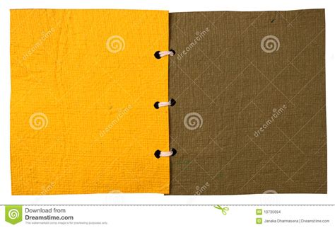 Handmade Paper Book - handmade paper book stock images image 10735694