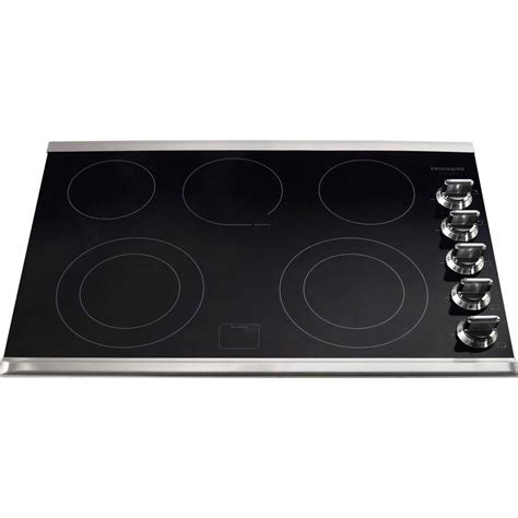 frigidaire electric cooktops frigidaire gallery 30 in ceramic glass electric cooktop