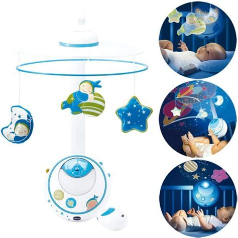 mobile projection bleu chicco www babyhouseonline